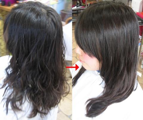 ミコノスイオンカールの髪にクイックトリートメント!