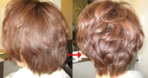 ミコノスイオンカールで髪、柔らかく!
