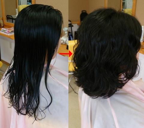 ミコノスイオンカール:髪風船