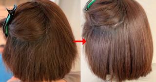 マレーア・レナータ縮毛矯正で根元から美しいストレートに