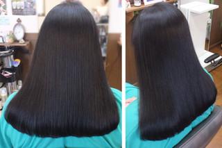 マレーア・レナータ縮毛矯正で長く、綺麗、信じられない!